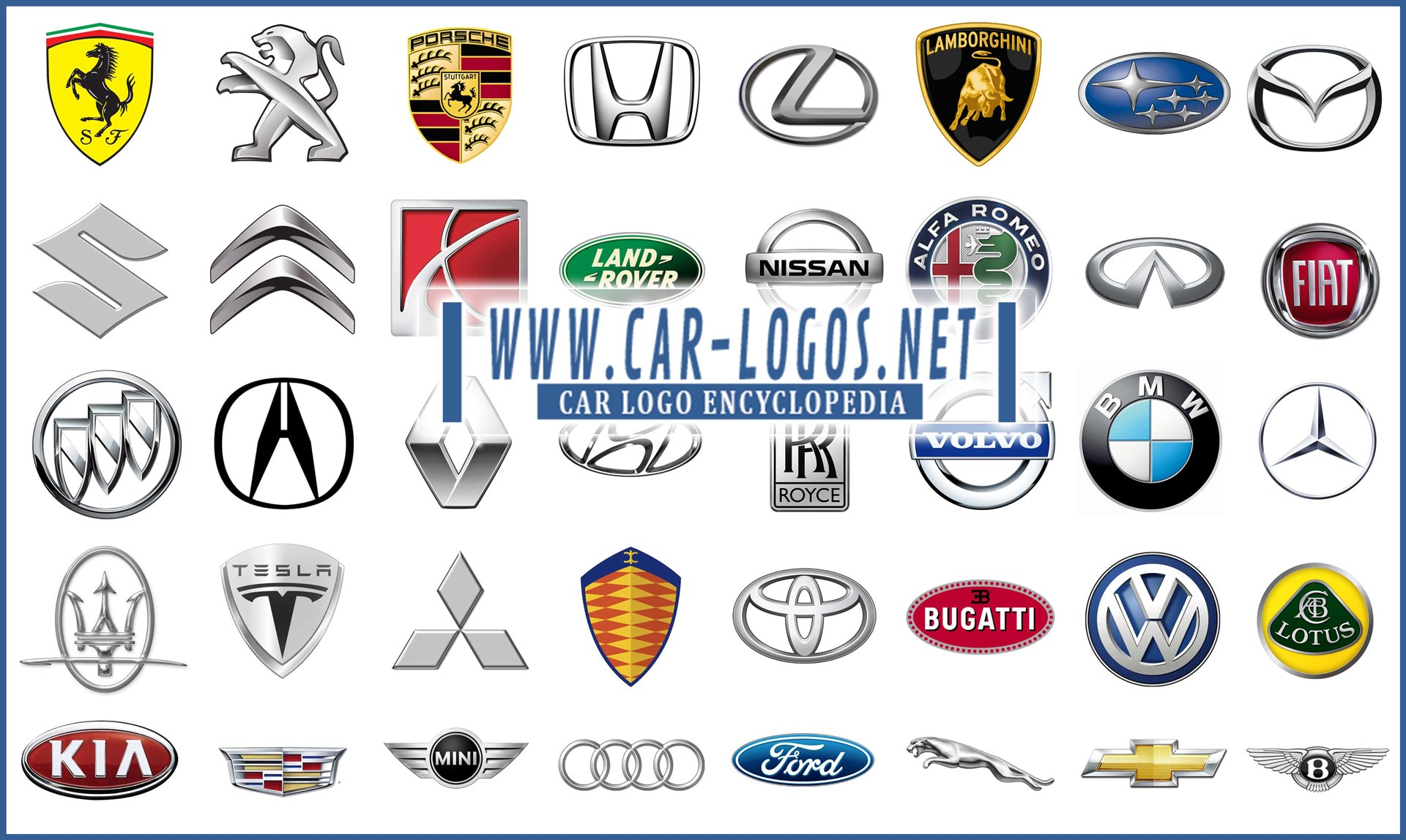 All Car Manufacturer Logos - All Car Brands 1200+ manufacturer logos